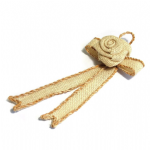 B2080NAT Ribbon Hanger: Small: Natural